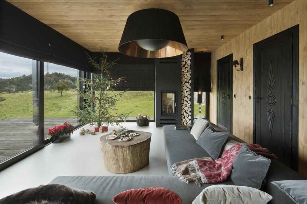 Dom wakacyjny nad jeziorem Czorsztyńskim