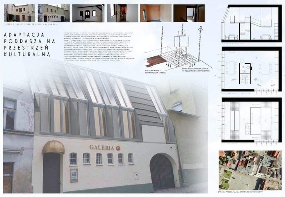 Laureaci konkursu studenckiego Dach w Wielkim Mieście