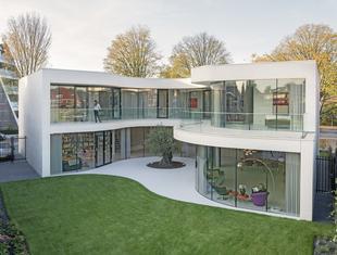 Dom szyty na miarę - Casa Kwantes pod Rotterdamem