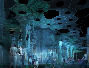 Lumen – pawilon letni MoMA PS1