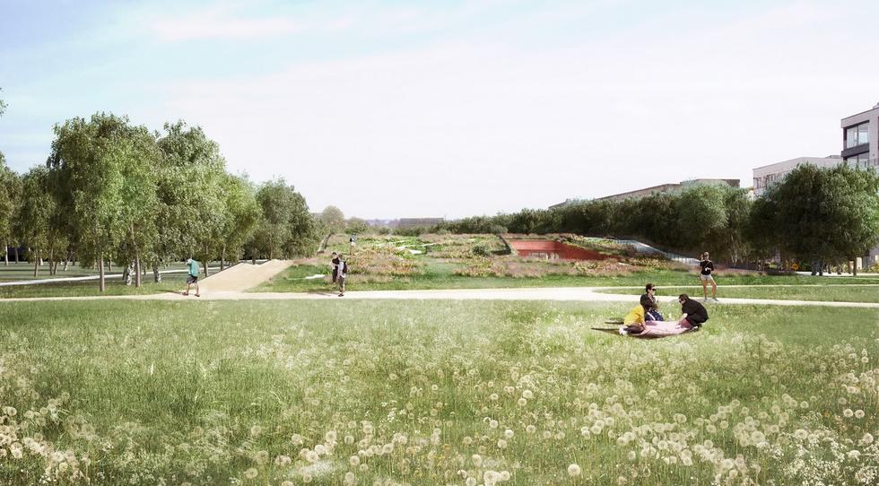 Ogród XXI wieku w Łazienkach Królewskich [NOWE WIZUALIZACJE]