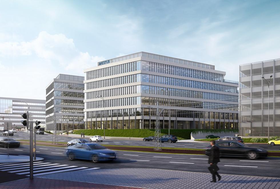 Kompleks biurowy Imagine w Łodzi