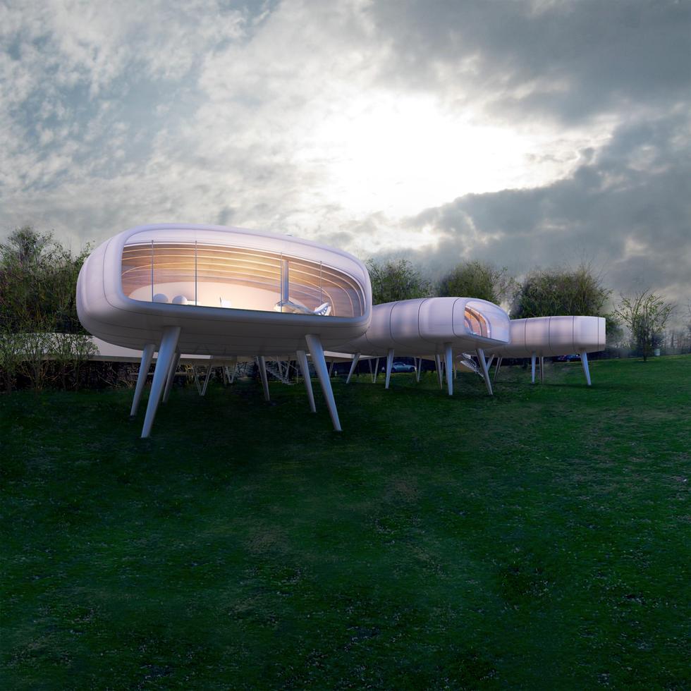 Crab Houses – polski projekt nagrodzony w Mediolanie
