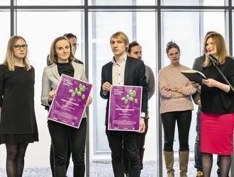 """Prezentacja wyników XVI edycji konkursu """"A-m"""" Dach w wielkim mieście"""