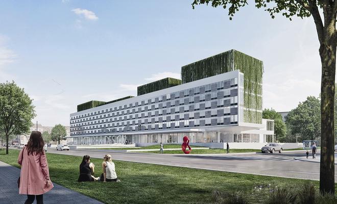 Przebudowa dawnego hotelu Cracovia – projekt dyplomowy
