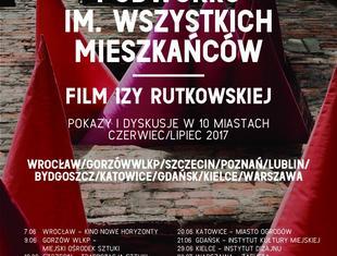 Podwórko im. Wszystkich Mieszkańców: film i dyskusje o rewitalizacji w 10 miastach