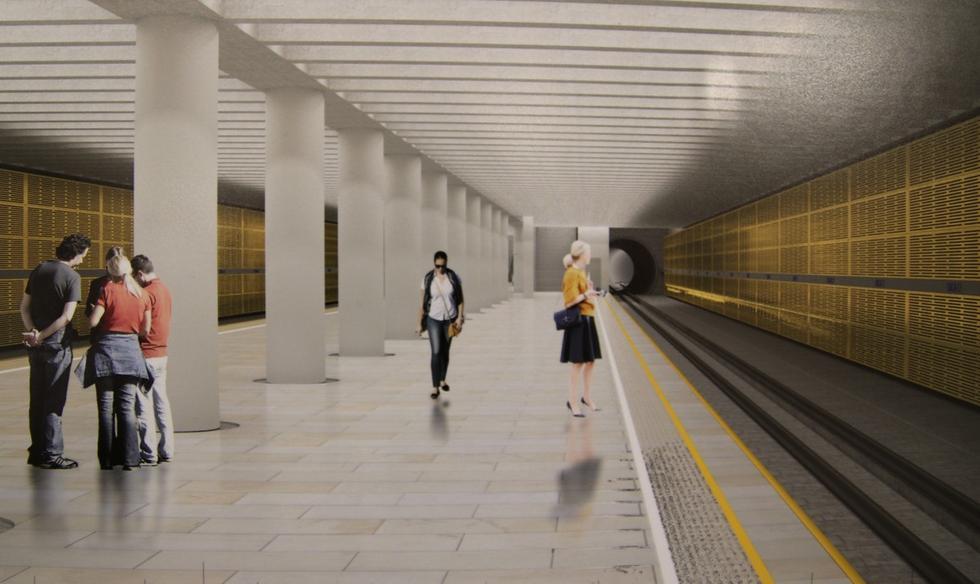 Tak będą wyglądać kolejne stacje II linii warszawskiego metra