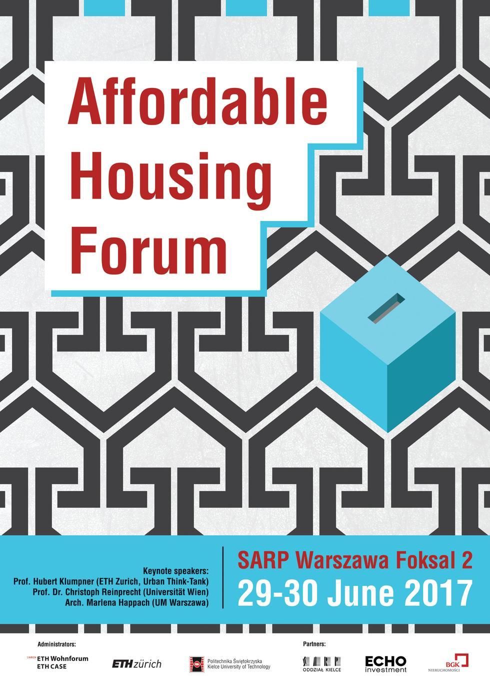Polsko – szwajcarskie Forum Dostępnego Budownictwa Mieszkaniowego