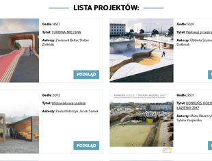 Prawie 300 projektów toalety publicznej dla Poznania. Wybierz najlepszy!