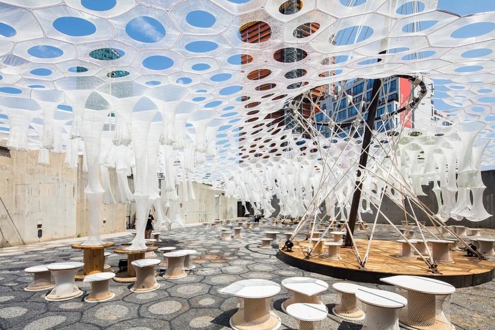 Lumen – tymczasowa instalacja w sercu Nowego Jorku