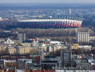 Wizje nierealne więc niezrealizowane - o zagospodarowaniu terenu wokół Stadionu Narodowego Grzegorz Buczek