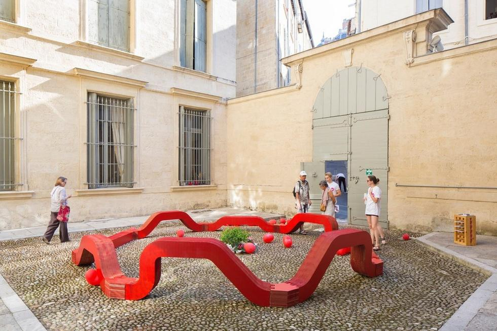 Żywe architektury w Montpellier