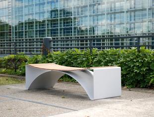 Ławka Pawła Grobelnego w Strasburgu