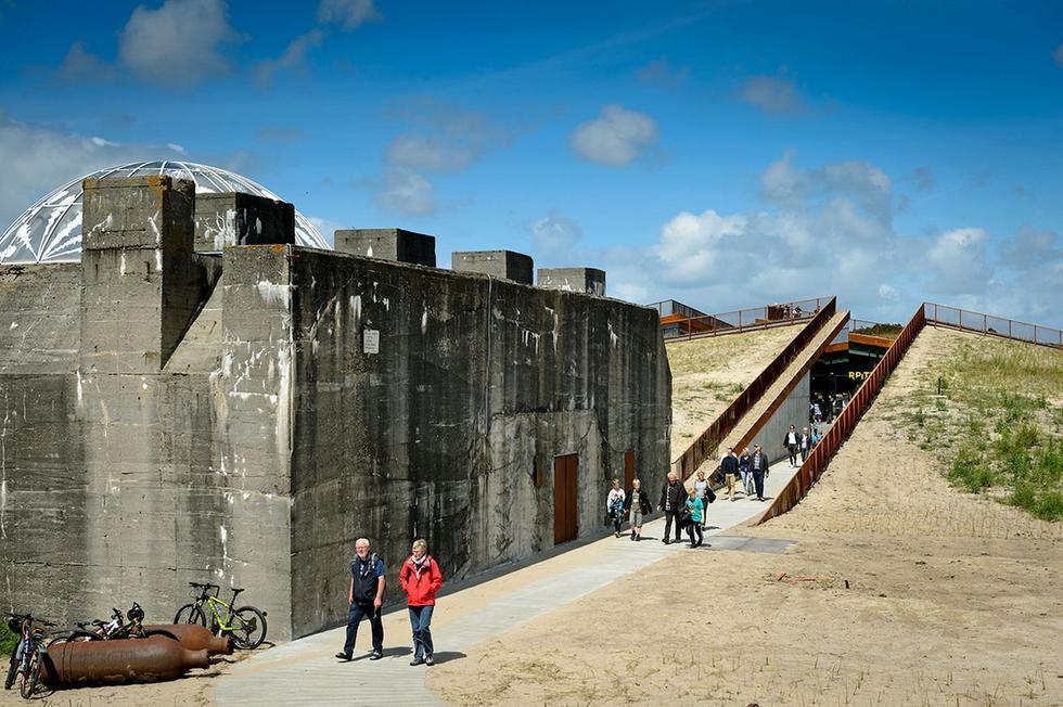 Niewidzialne muzeum przy byłym nazistowskim bunkrze