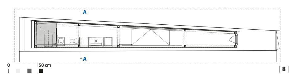 Dom Kereta - konstrukcja najwęższego domu