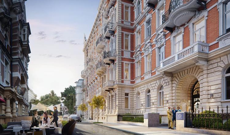 Rewitalizacja i przebudowa zabytkowych kamienic przy ulicy Foksal w Warszawie