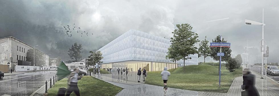 Rozbudowa Centrum Nauki Kopernik w Warszawie