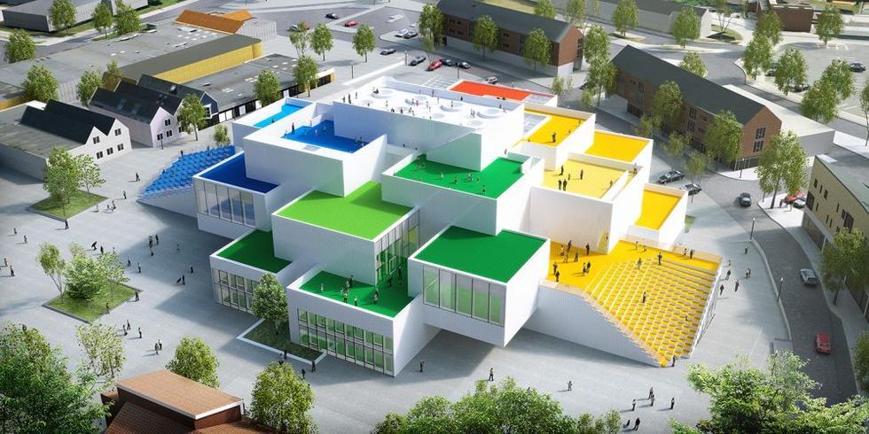 LEGO® House – zobacz jak powstawał najnowszy projekt Bjarke Ingels Group