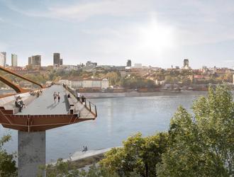 Nowy pieszo-rowerowy most przez Wisłę w Warszawie – znamy wyniki konkursu