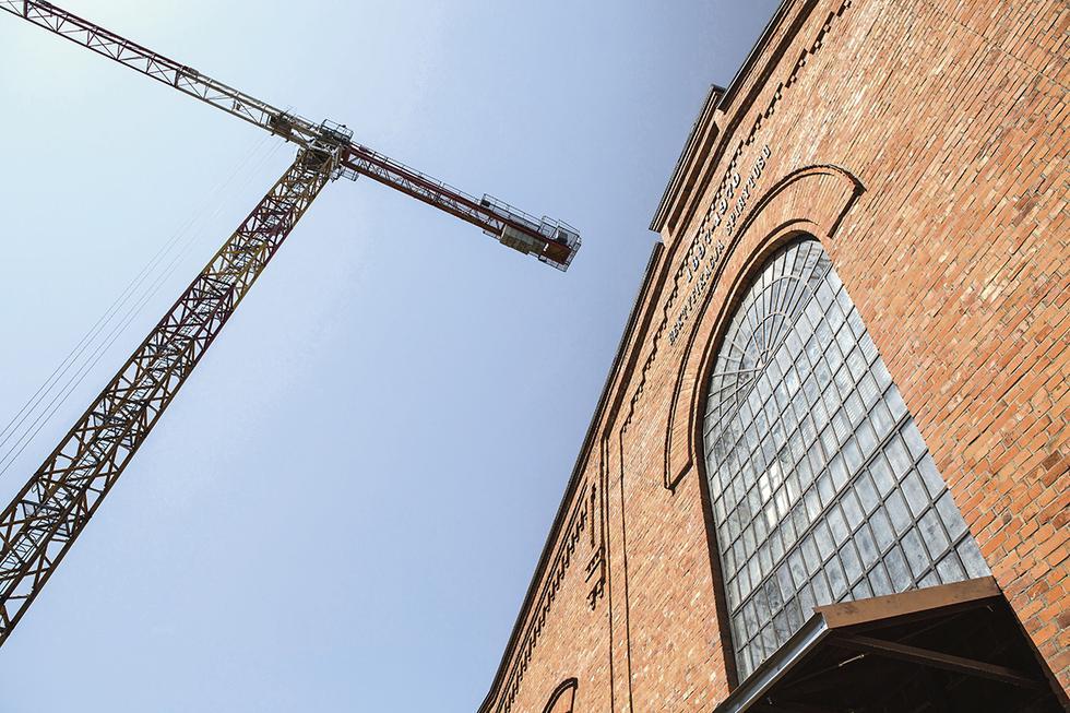 Muzeum Polskiej Wodki_budynek rektyfikacji