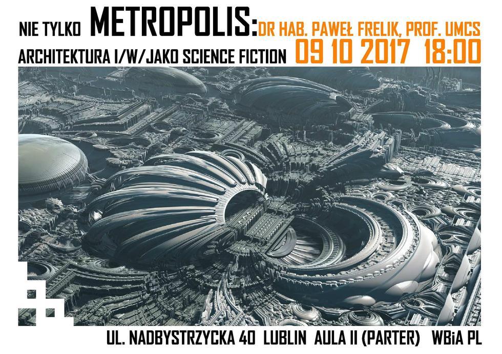 Architektura i science fiction. Wykład