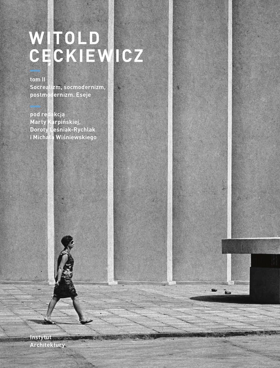 Trzy publikacje poświęcone twórczości Witolda Cęckiewicza