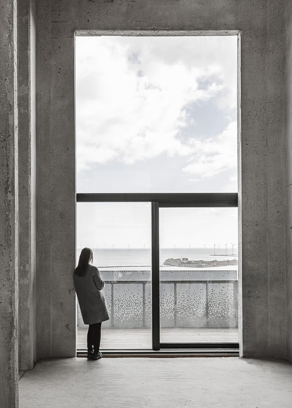 Apartamentowiec The Silo w Kopenhadze