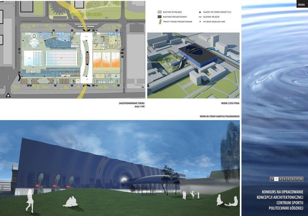 Centrum sportu w Łodzi