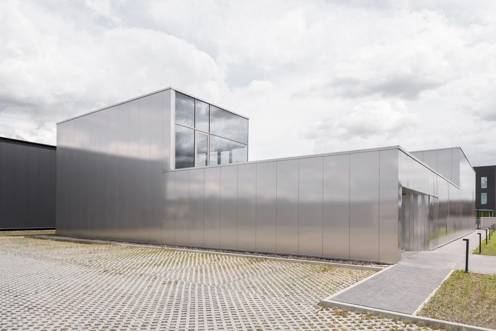 Budynek biurowo-magazynowy Agencji Reklamy FUX w Nowych Gliwicach, autorzy: Interurban Łukasz Piankowski