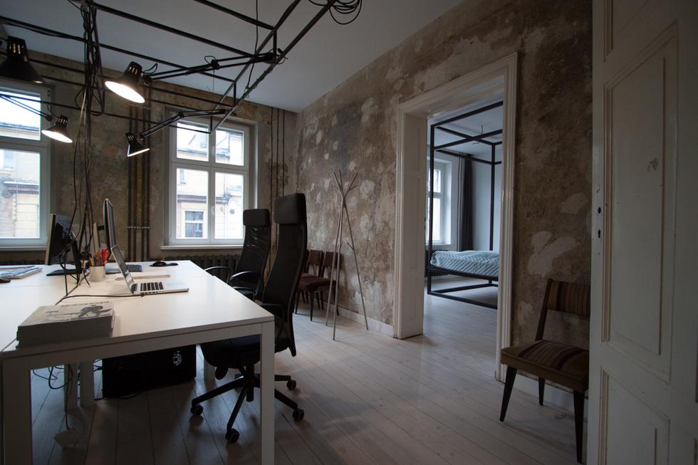 Mieszkanie prywatne z pracownią w Katowicach, autorzy: studio Ma.pa