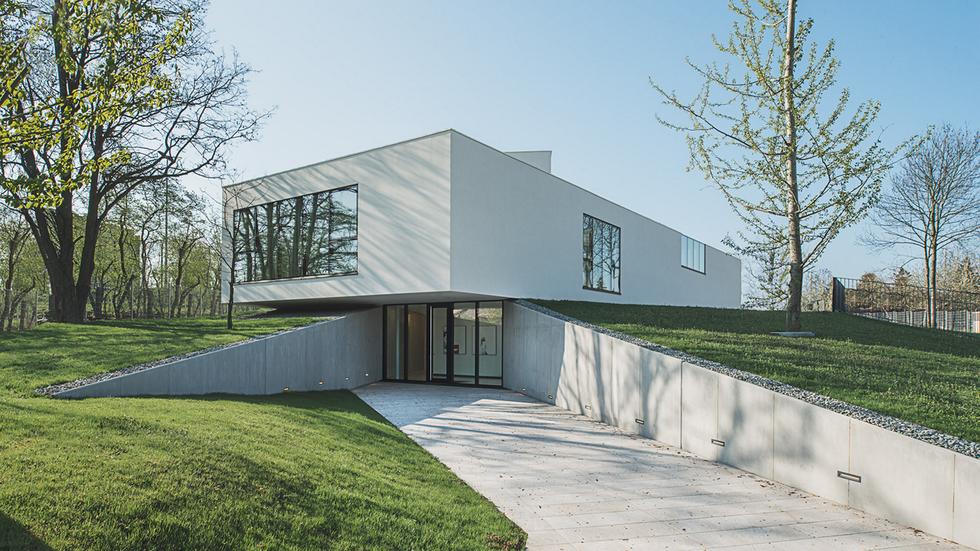 Dom jednorodzinny V-House, autorzy: Archistudio Studniarek + Pilinkiewicz