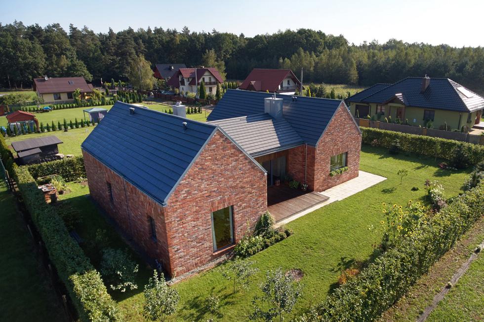 Dom jednorodzinny w Gliwicach , autorzy: Bartłomiej Pochopień