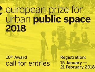 Nabór zgłoszeń do European Prize for Urban Public Space 2018