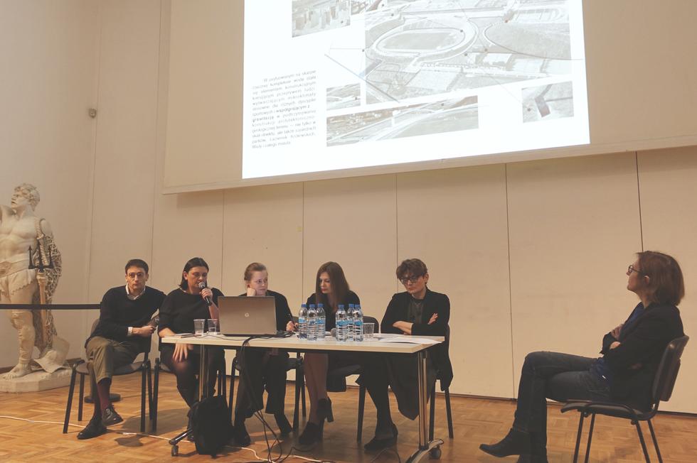 Spotkanie pawilon polski biennale 2018