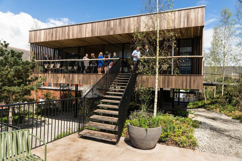 Maggie's Centre w Oldham: pionierskie zastosowania drewna