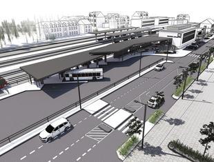 Przebudowa dworca w Wolsztynie