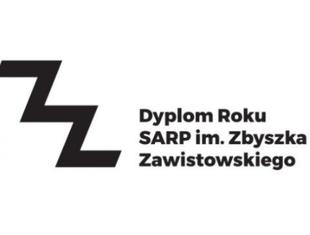 Nagroda SARP im. Zbyszka Zawistowskiego - Dyplom Roku 2018