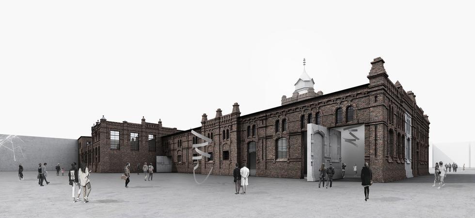 PLATO Ostrava: galeria sztuki w Ostrawie projektu KWK Promes Robert Konieczny