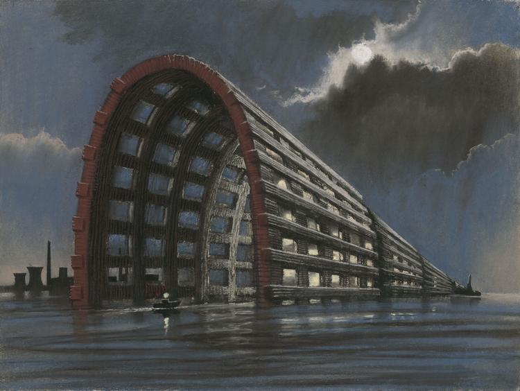 Sergei Tchoban. Kontrastowa harmonia miasta - wystawa