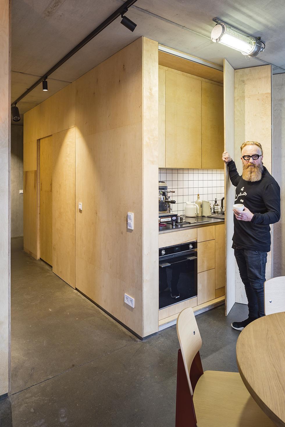 Jak mieszka polski architekt? Przemo Łukasik