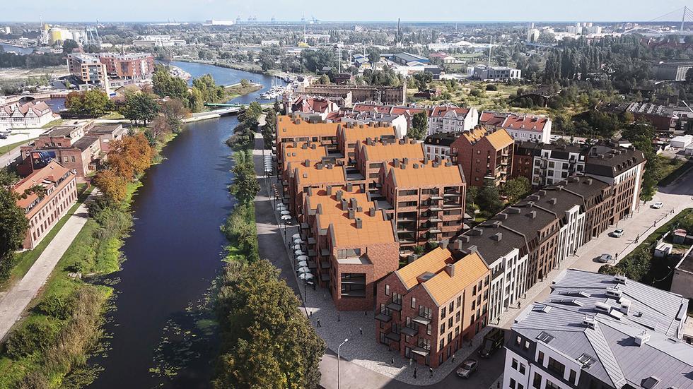 Zespół mieszkalny Riverview w Gdańsku