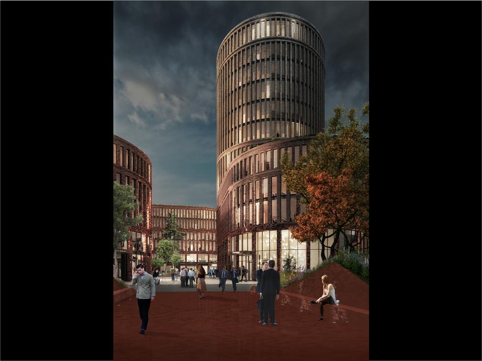 Fabryczna Offices - kolejna realizacja MVRDV w Polsce