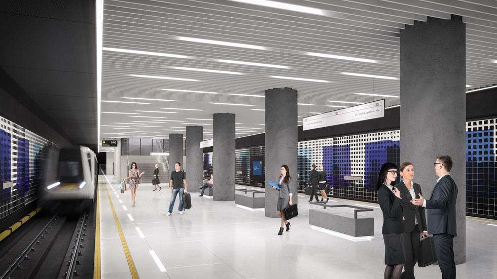 Metro na Targówku. Tak będą wyglądały nowe stacje II linii