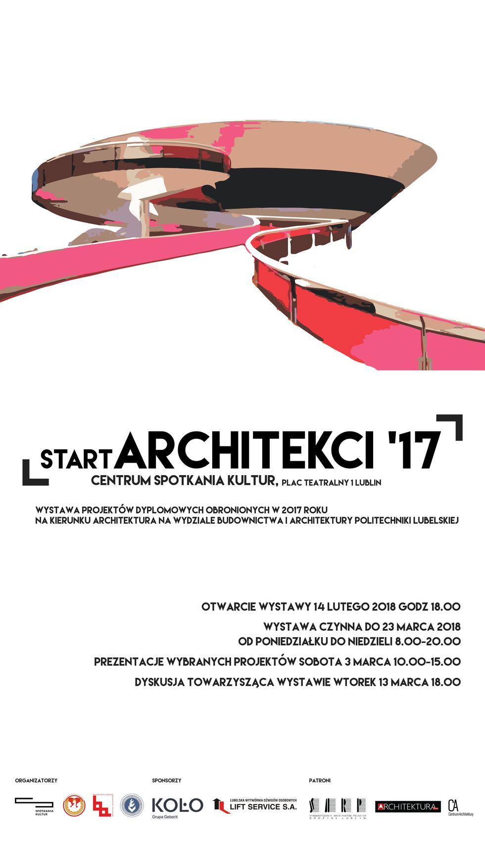 startARCHITEKCI: projekty studenckie w CSK w Lublinie