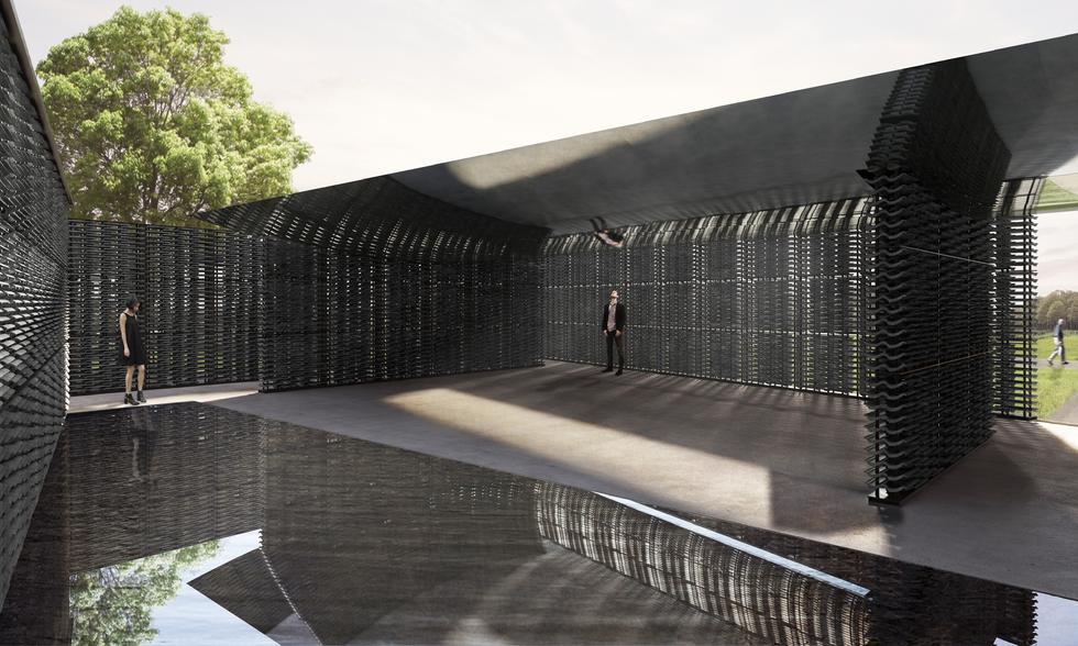 Frida Escobedo zaprojektuje pawilon galerii Serpentine w Londynie