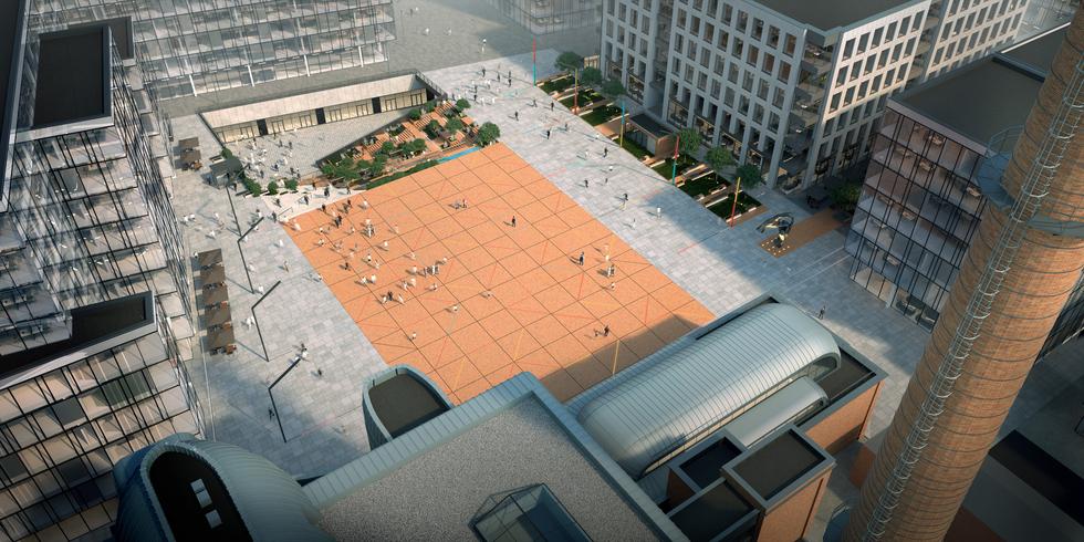 Nowe centrum Łodzi. Tak ma wyglądać Rynek Kobro