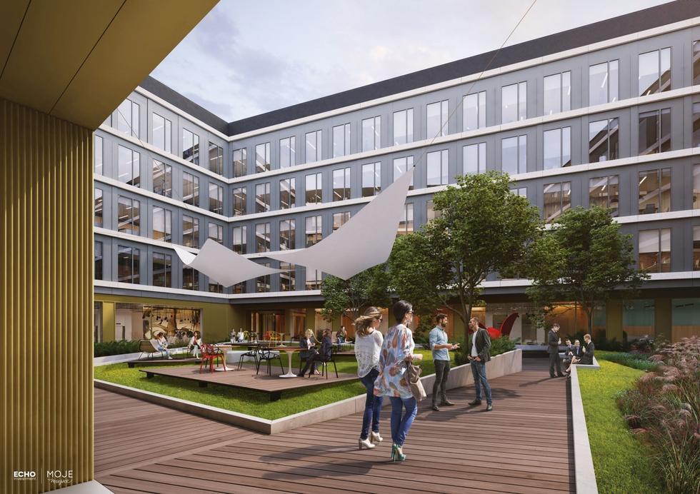 Moje Miejsce w Warszawie – nowy wielofunkcyjny zespół projektu JEMS Architekci