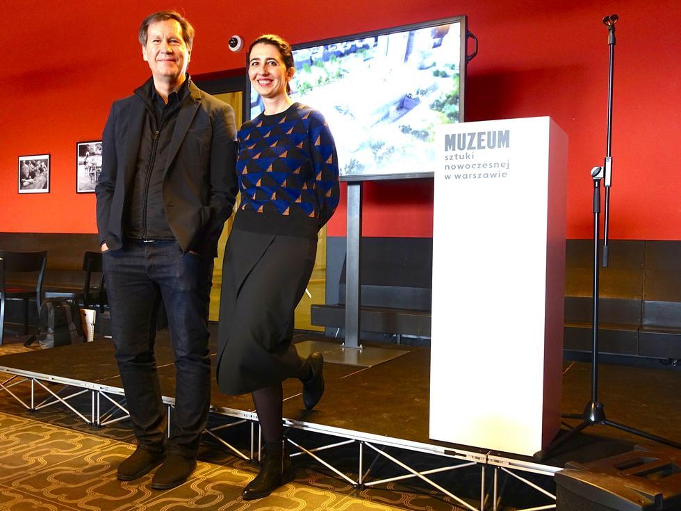 """""""To muzeum musiało wyrąbać sobie własną przestrzeń"""" Thomas Pfeifer i Joanna Mytkowska o nowym MSN"""