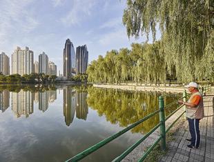 Zespół biurowo-mieszkaniowy Chaoyang Park Plaza w Pekinie