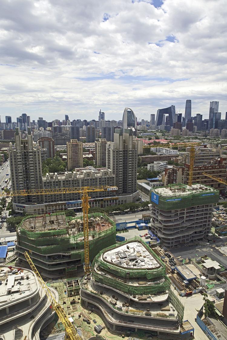 MAD_Chaoyang Park Plaza_Under Construction (1)